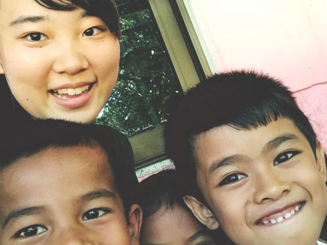 カンボジアでチャイルドケア&地域奉仕活動 馬場日菜子